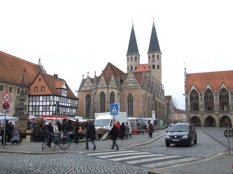 Wochenmarkt Braunschweig, Martinikirche