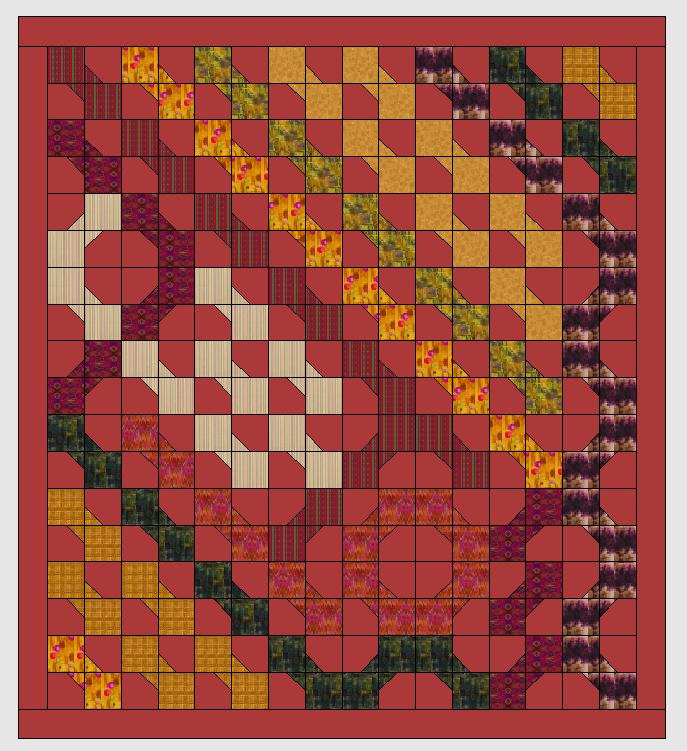 Ein neuer Quilt: ein Sampler mit der V7 entwerfen