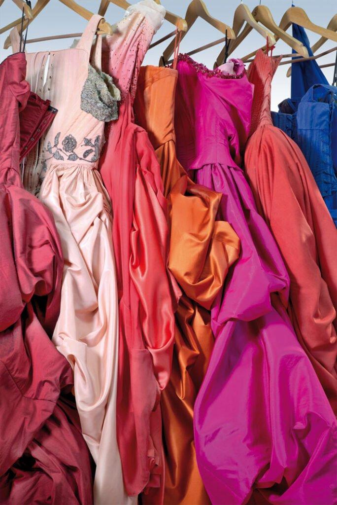 Die Kleider der Buhlschaft Ausstellung der Residenzgalerie Salzburg  Foto: Anneliese Kaar