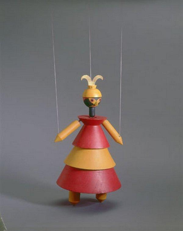 Marionetten zu König Hirsch, Dr. Complex, 1918 Museum für Gestaltung Zürich, Kunstgewerbesammlung © ZHdK, Marlen Perez