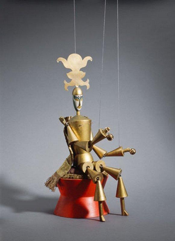 Marionetten zu König Hirsch, Deramo, 1918 Museum für Gestaltung Zürich, Kunstgewerbesammlung © ZHdK, Marlen Perez