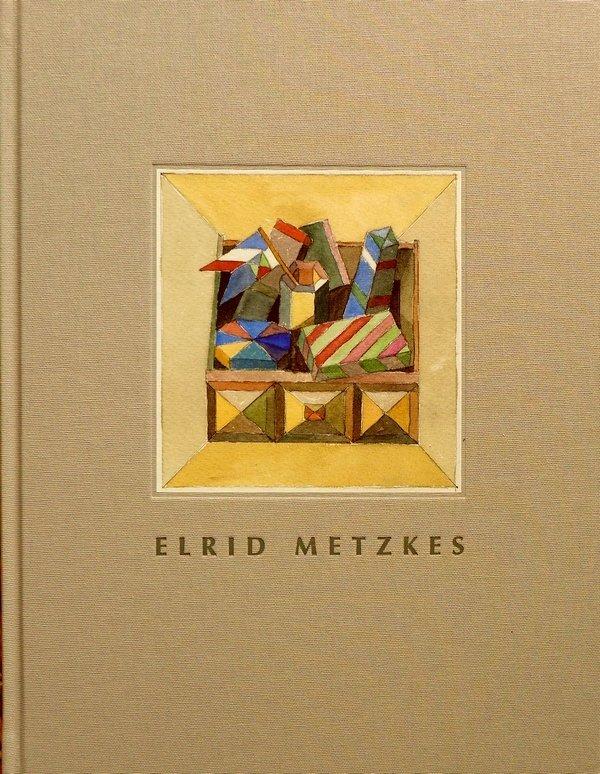 Buchtitel: Elrid Metzkens: Kramkiste I 1989, Entwurf, Aquarell, 16 x 15 cm Foto: Gudrun Heinz
