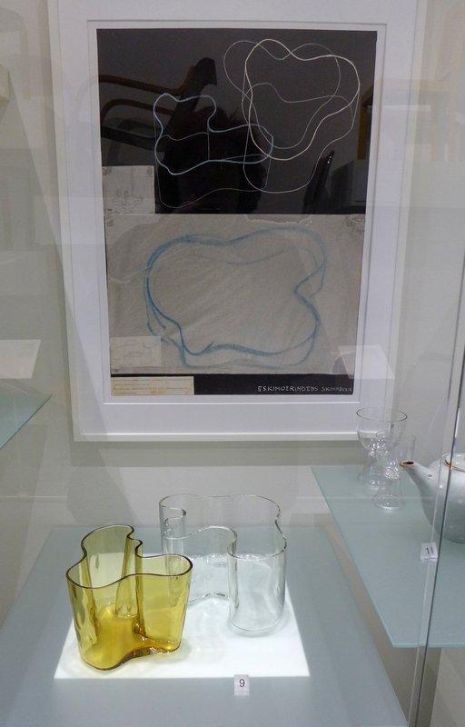 Alvar Aalto: Vasen (Glas, 1936) Foto mit freundlicher Erlaubnis von Designmuseo Helsinki