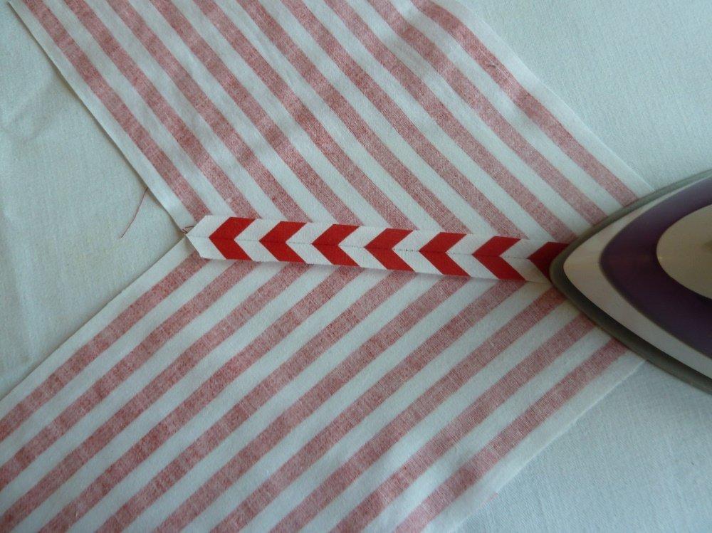 Nähanleitung Briefecken