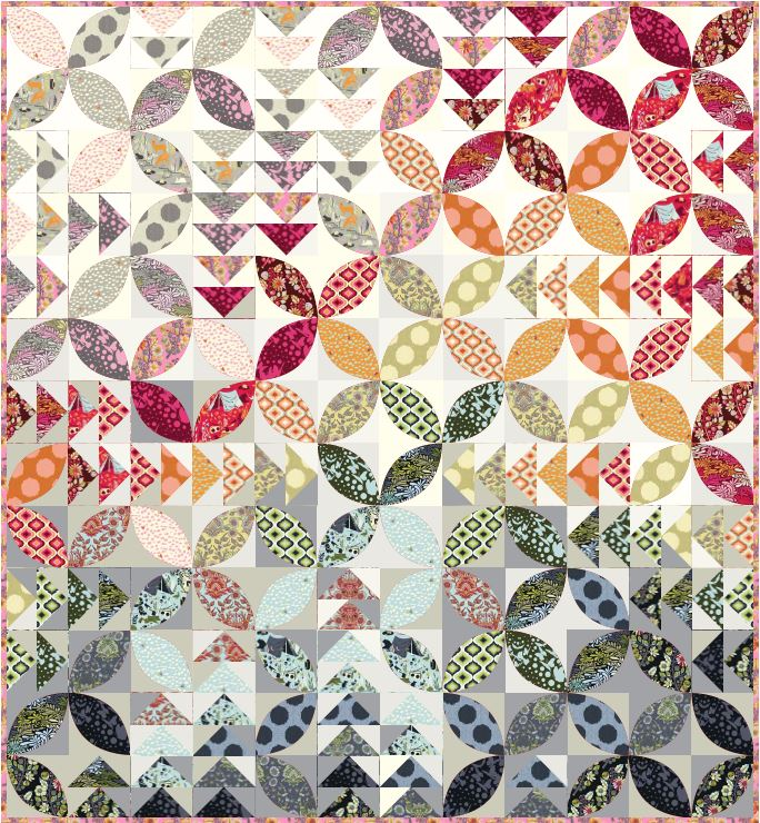 Quilt Bird Seed By Tula Pink Sewing Instruction And Pattern