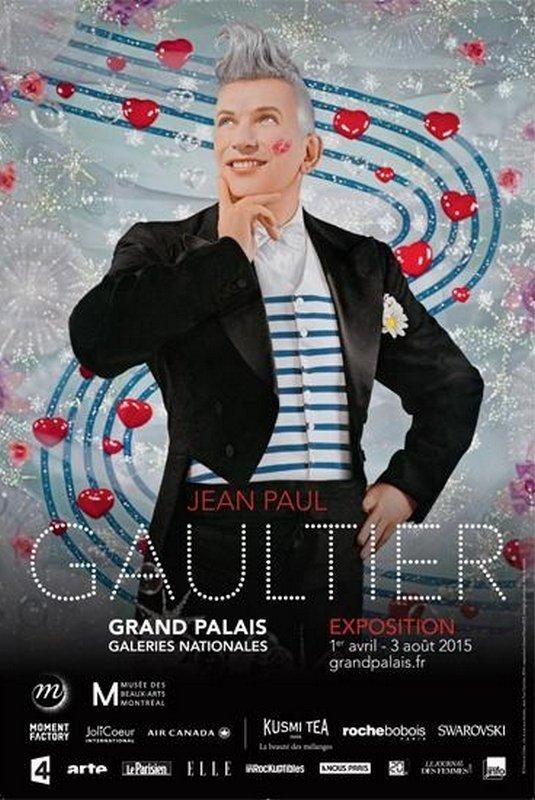 Plakat: © Pierre et Gilles : De la rue aux étoiles, Jean Paul Gaultier, 2014/ exposition Grand Palais 2015