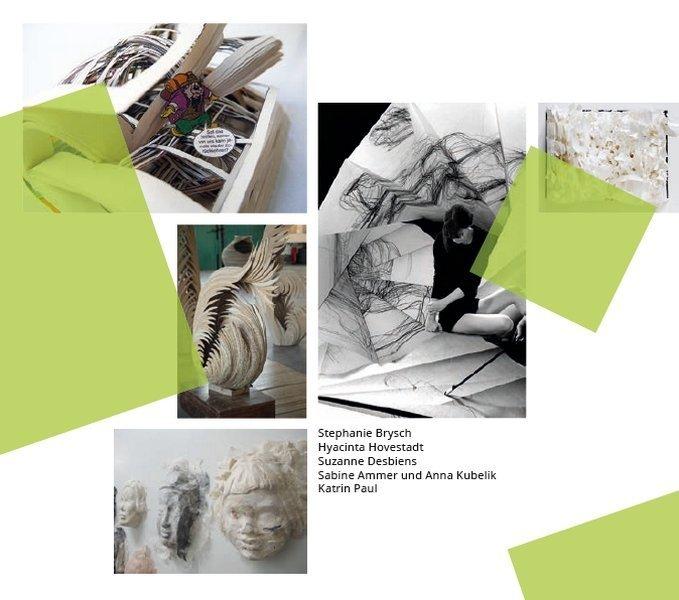 Aus dem Flyer der Papier Global 3 Foto mit freundlicher Erlaubnis der Museumsleitung: Gudrun Heinz