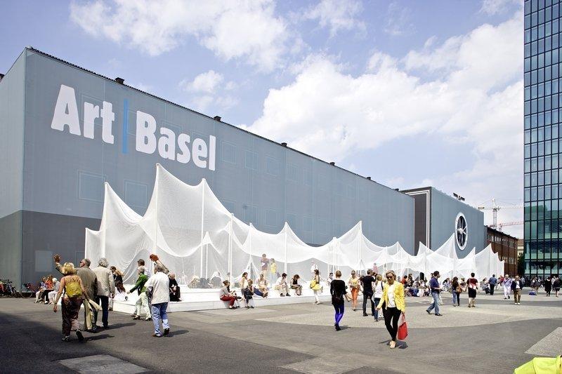 Art Basel in Basel 2014 General Impression © Art Basel Foto freundlicherweise von Art Basel zur Verfügung gestellt