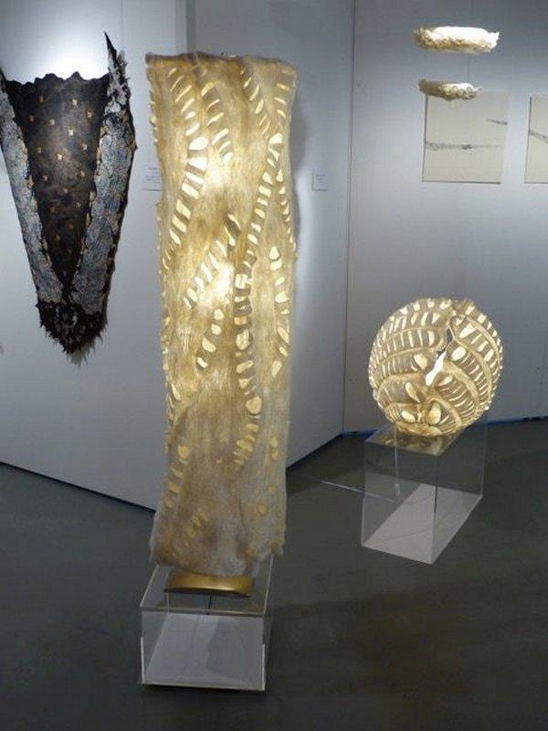 Blick in die Ausstellung 'Interiors'  Foto freundlicherweise von Sigrid Bannier zur Verfügung gestellt