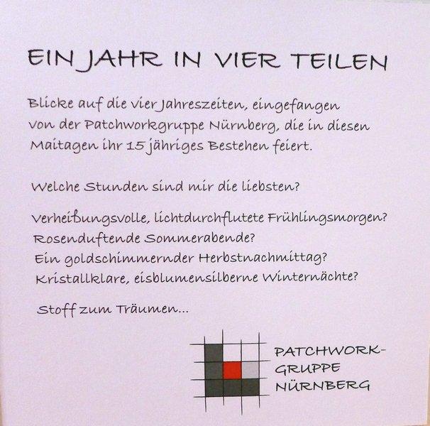 Patchworkgruppe Nürnberg