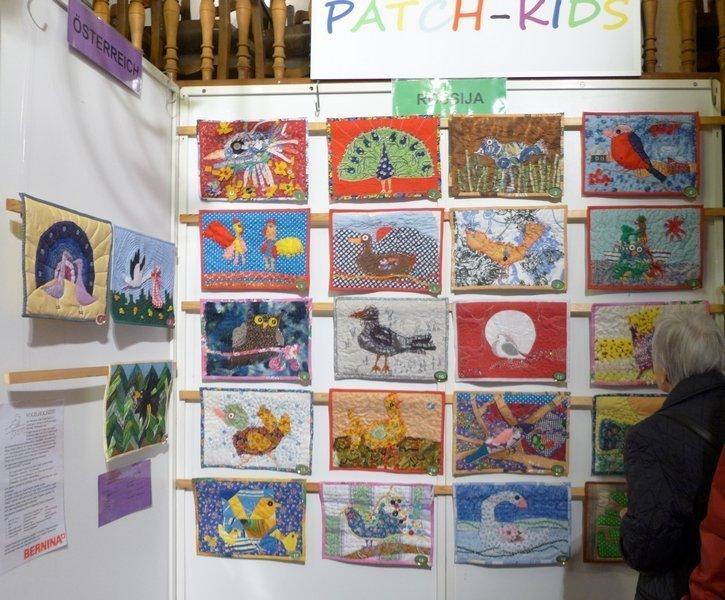 Ausstellung 'Vogelhochzeit'  Einsendungen aus Russland