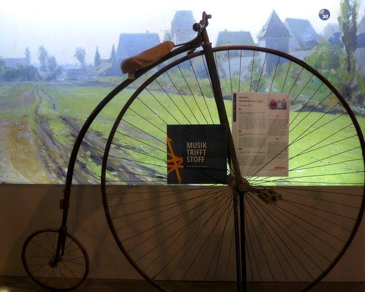 Ausstellung Musik trifft Stoff' - Network Quilters