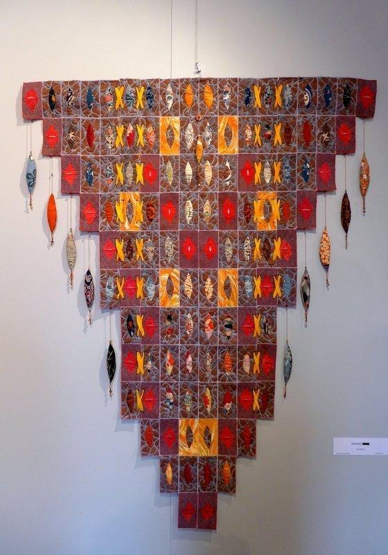 Pia Welsch: Kimono Ausstellung 'Musik trifft Stoff' - Network Quilters