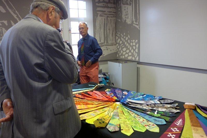 Krawattenprojekt von Wolfgang Eibisch
