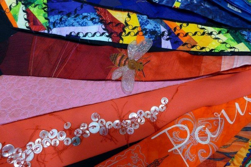Krawattenprojekt von Wolfgang Eibisch, Detail