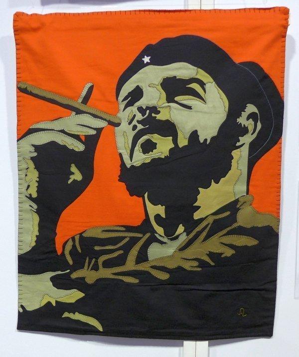 Miriam Balboa Hernandez: Che, 2008, 80 x 66 cm Ausstellung 'Cuba libre'
