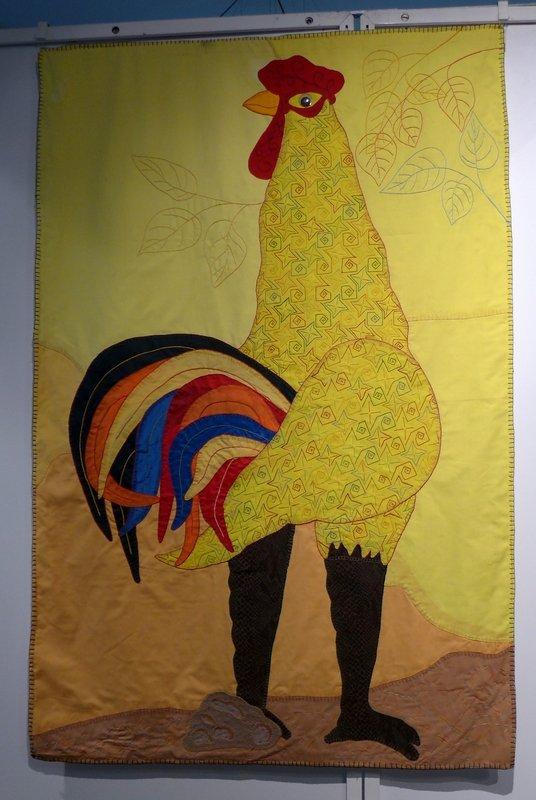 Yoanqui Gonzalez: El Dueno del Patio, 2008, 147 x 98 cm Ausstellung 'Cuba libre'