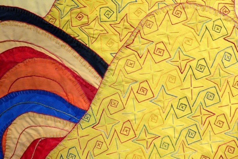 Yoanqui Gonzalez: El Dueno del Patio, Detail Ausstellung 'Cuba libre'
