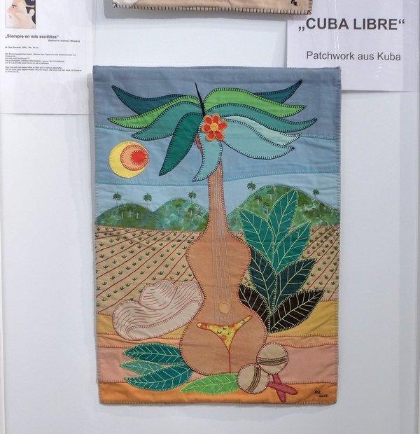 Olga Quevedo: Mi Guitarra, 2003, 75 x 55 cm Ausstellung 'Cuba libre'