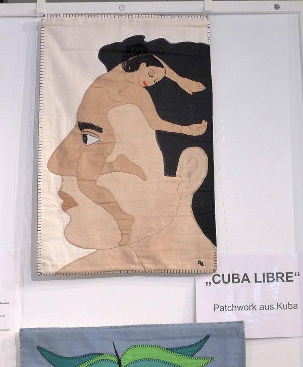 Olga Quevedo: Siempre en mis sentidos, 2002, 66 x 44 cm Ausstellung 'Cuba libre'
