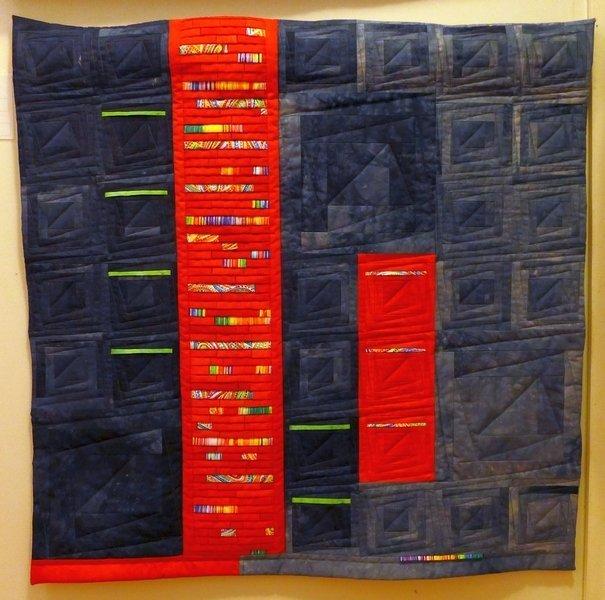 Annette Rußwinkel: Sylter Welle Ausstellung 'Log Cabin' - Ausschreibung der Patchwork Gilde