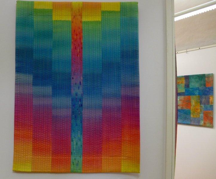 Geysir 'Farbe, Form, Vielfalt' - Einzelausstellung von Tina Mast