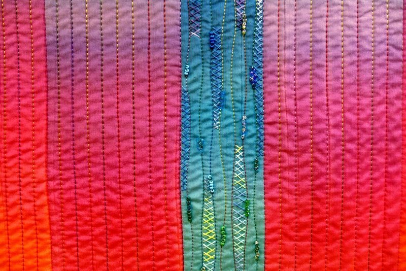 Geysir, Detail 'Farbe, Form, Vielfalt' - Einzelausstellung von Tina Mast
