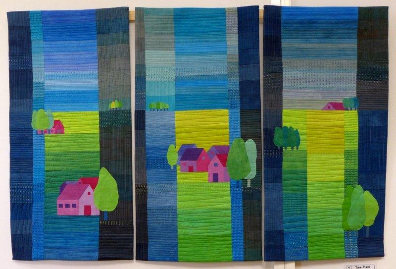 Bis zum Horizont 'Farbe, Form, Vielfalt' - Einzelausstellung von Tina Mast
