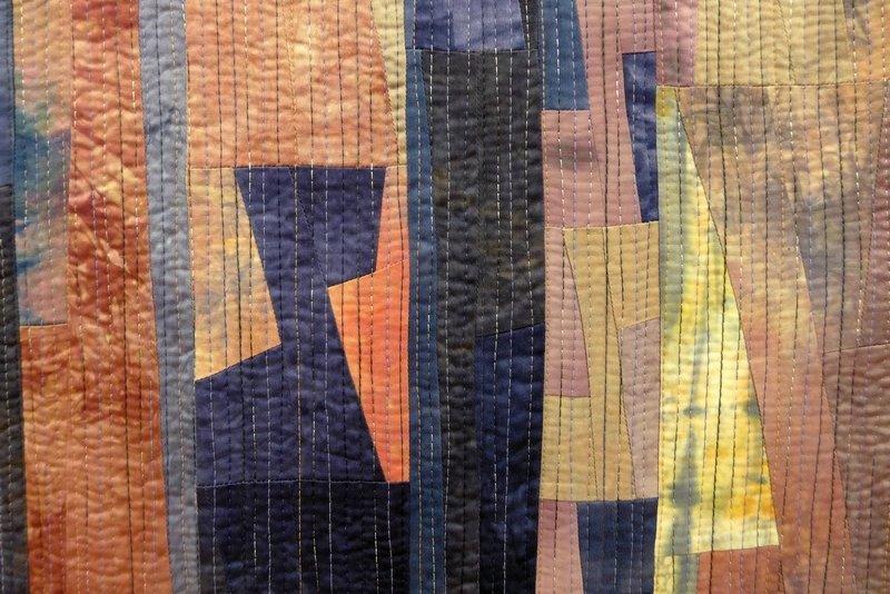 Nuance 2, Detail 'Giganten, Profile' - Einzelausstellung von Heike Dressler