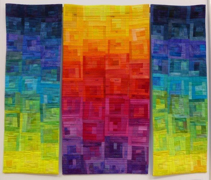Sonnwendfeuer 'Farbe, Form, Vielfalt' - Einzelausstellung von Tina Mast