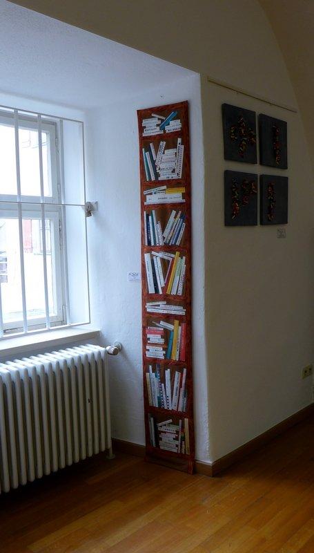 Literaturchaos 'Farbe, Form, Vielfalt' - Einzelausstellung von Tina Mast