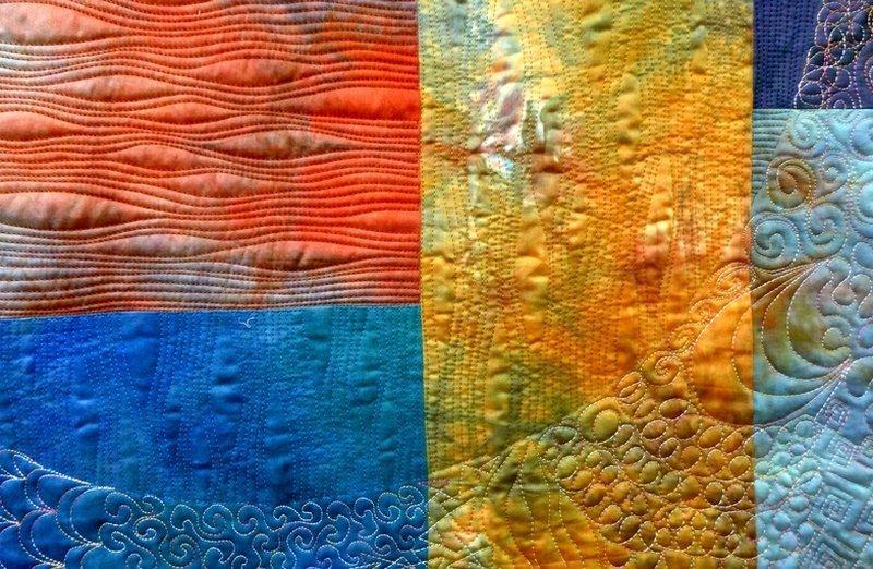 Andorra, Detail 'Farbe, Form, Vielfalt' - Einzelausstellung von Tina Mast