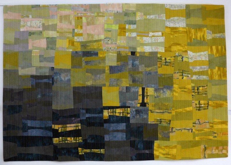 Wüstensturm 1 'Giganten, Profile' - Einzelausstellung von Heike Dressler