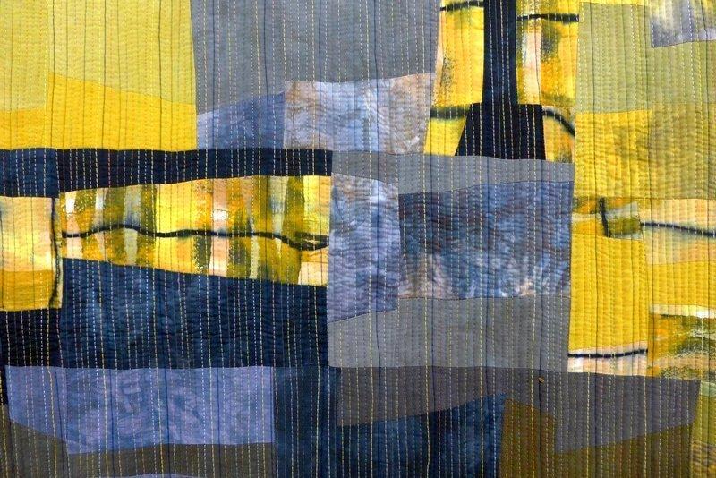 Wüstensturm 1, Detail 'Giganten, Profile' - Einzelausstellung von Heike Dressler