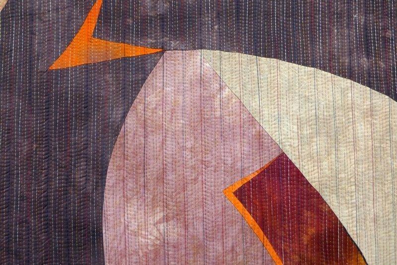 Giganten 15, Detail 'Giganten, Profile' - Einzelausstellung von Heike Dressler