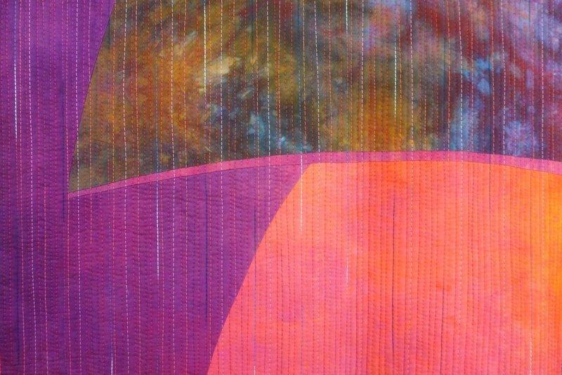 Giganten 11, Detail 'Giganten, Profile' - Einzelausstellung von Heike Dressler