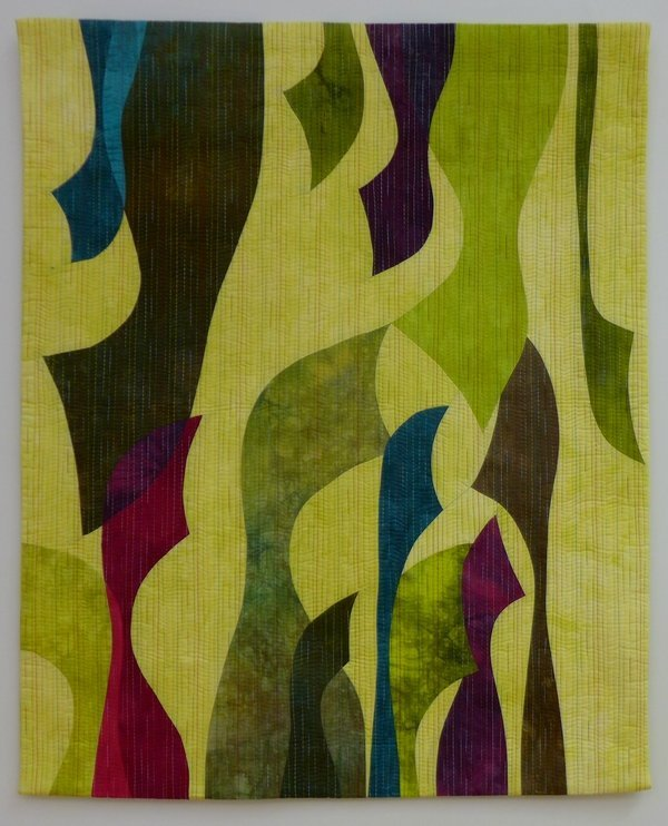 Profile 1 'Giganten, Profile' - Einzelausstellung von Heike Dressler