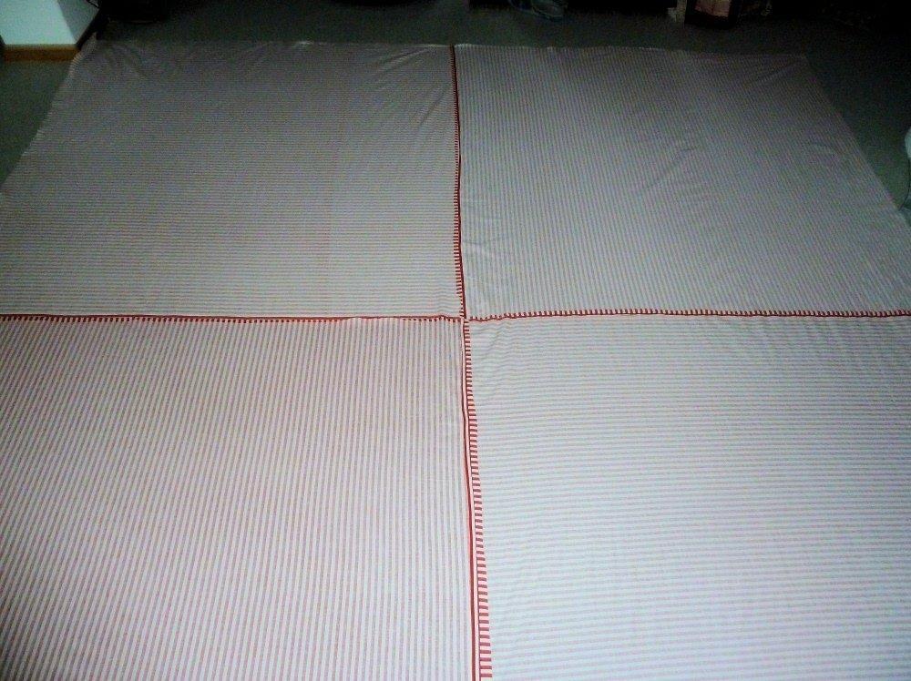 Nähanleitung Tanzende Quadrate