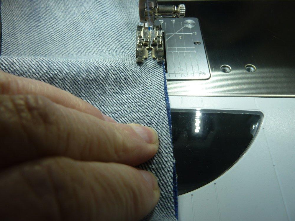 Jeansrecycling,Teil 3, die Weste