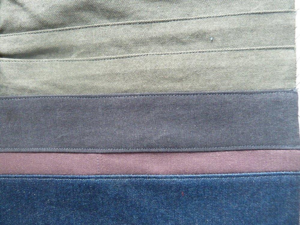 jeansrecycling teil 3 wir n hen eine weste bernina blog. Black Bedroom Furniture Sets. Home Design Ideas