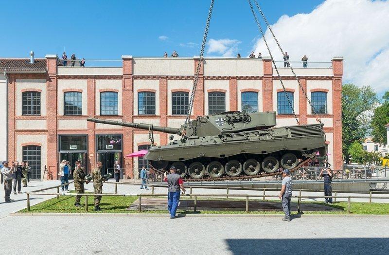 Panzer am tim  Foto: Felix Weinold