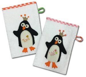 Pinguin-Waschlappen