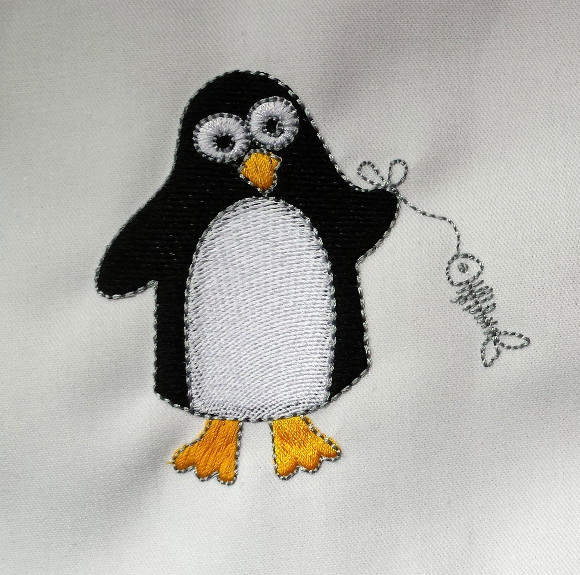 BERNINA Challenge: Last Call und Gratis-Stickpinguine » BERNINA Blog