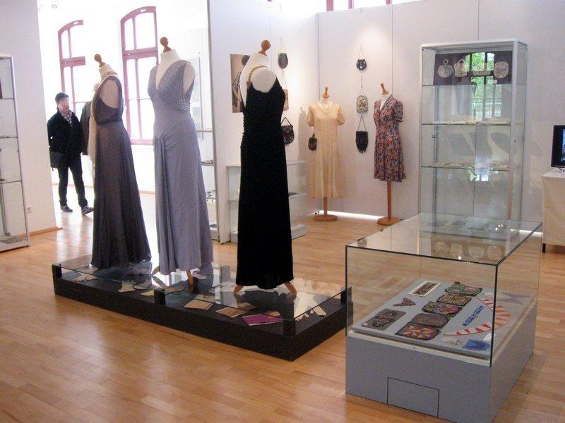 Ausstellung 'Glasperlen in der Mode' Foto: Marina Palm