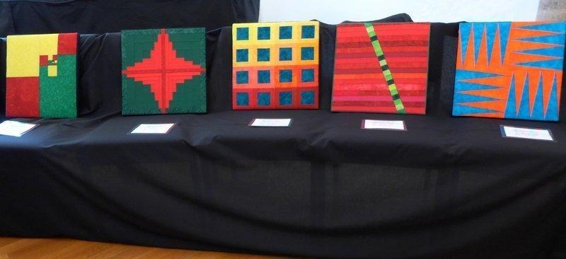 Modul 'Farbenlehre' Ausstellung 'Zertifikat-Quilts'