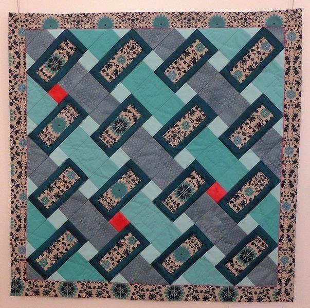 Sabine Schneider: Im Rahmen Ausstellung 'Zertifikat-Quilts'