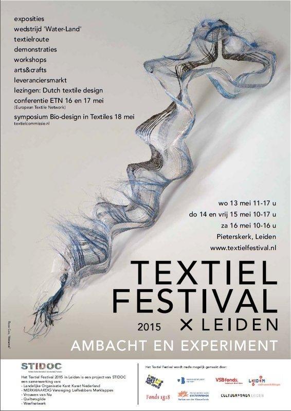 textiel festival 2015 plakat kl