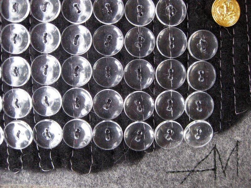 Aina Muze (LV): Leeres Schaufenster, Detail Ausstellung Textile News Langeweile Foto: Gudrun Heinz