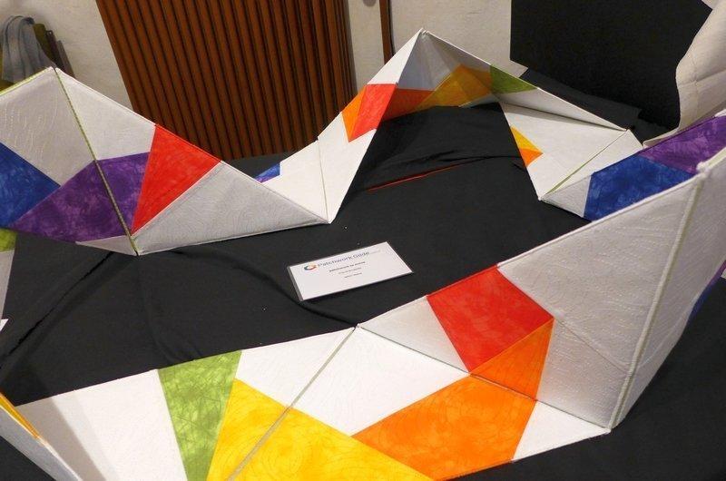 Anja Brenndörfer: patchwork to move Ausstellung: 3D - Ausschreibung der Gilde