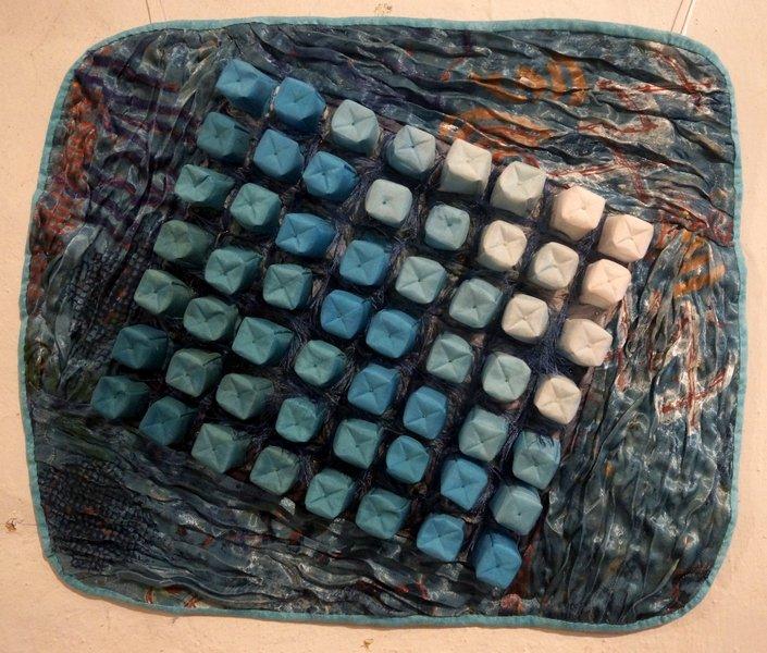 Lore Cornelius: Retorten-Malachit Ausstellung '3D' - Ausschreibung der Gilde